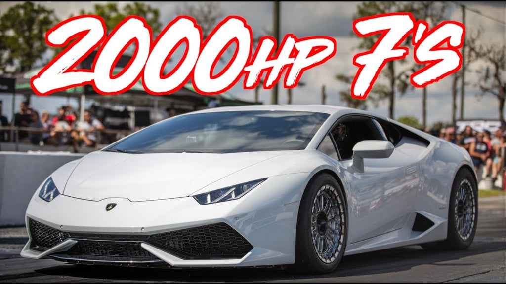 2000HP Drag Lamborghini Huracan goes 7's! - INSANE ACCELERATION