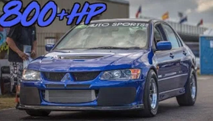 The Perfect Street Evo?! - 800HP Evo IX