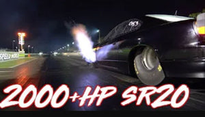 2000+HP SR20 4-Cylinder - Quest for the World Record!