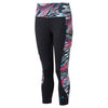 Ronhill Women Momentum Sculpt Crop Tight Blk/Cherryade Blast