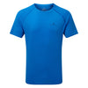 Ronhill Men Everyday S/S Tee Electric Blue Marl
