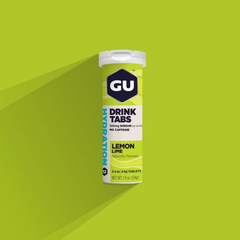GU Hydration Drink Tabs - Lemon Lime