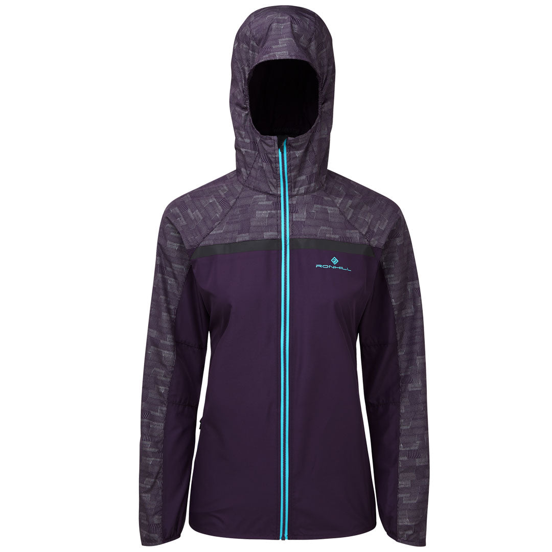 Ronhill Women Momentum Afterlight Jacket Blackberry/Reflect