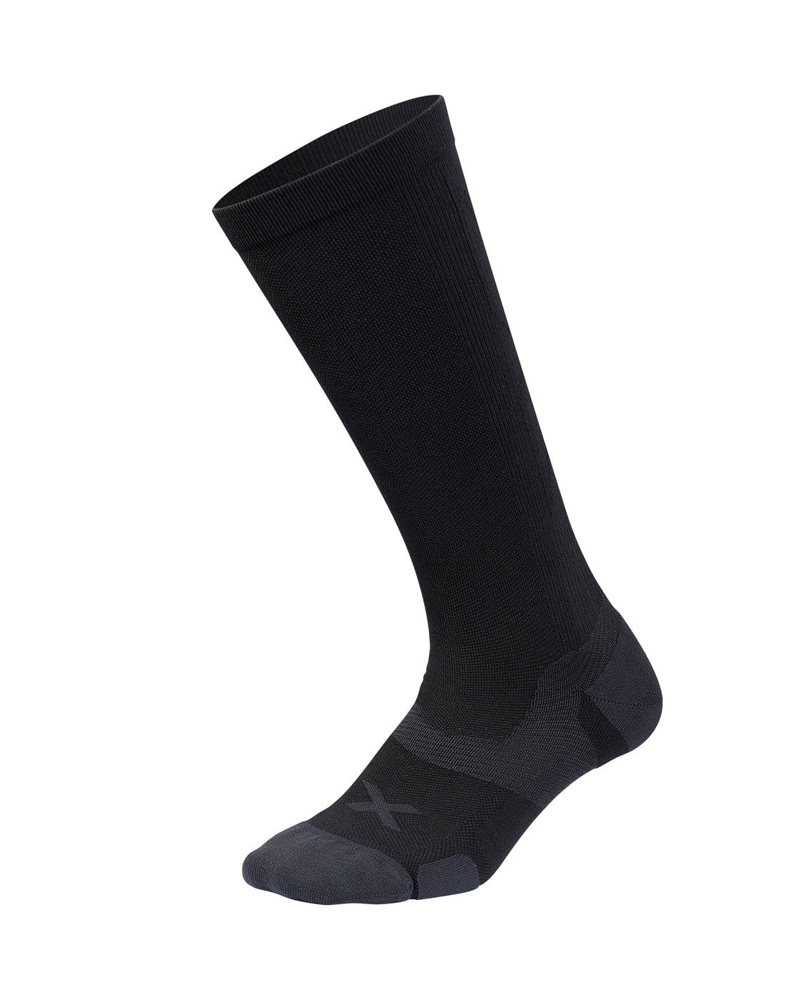 2XU Vectr Cushion Full Length Sock Unisex Black