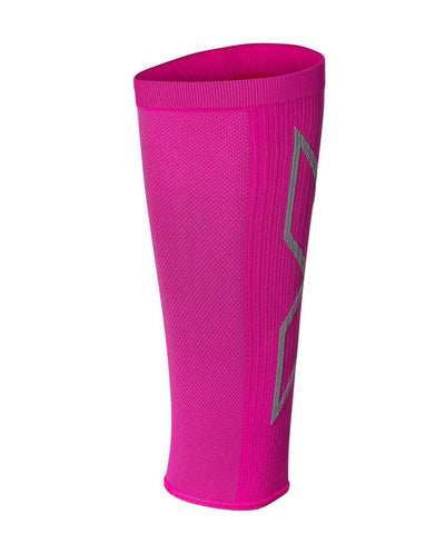 2XU Badminton X Compression Calf Sleeves Unisex Pink