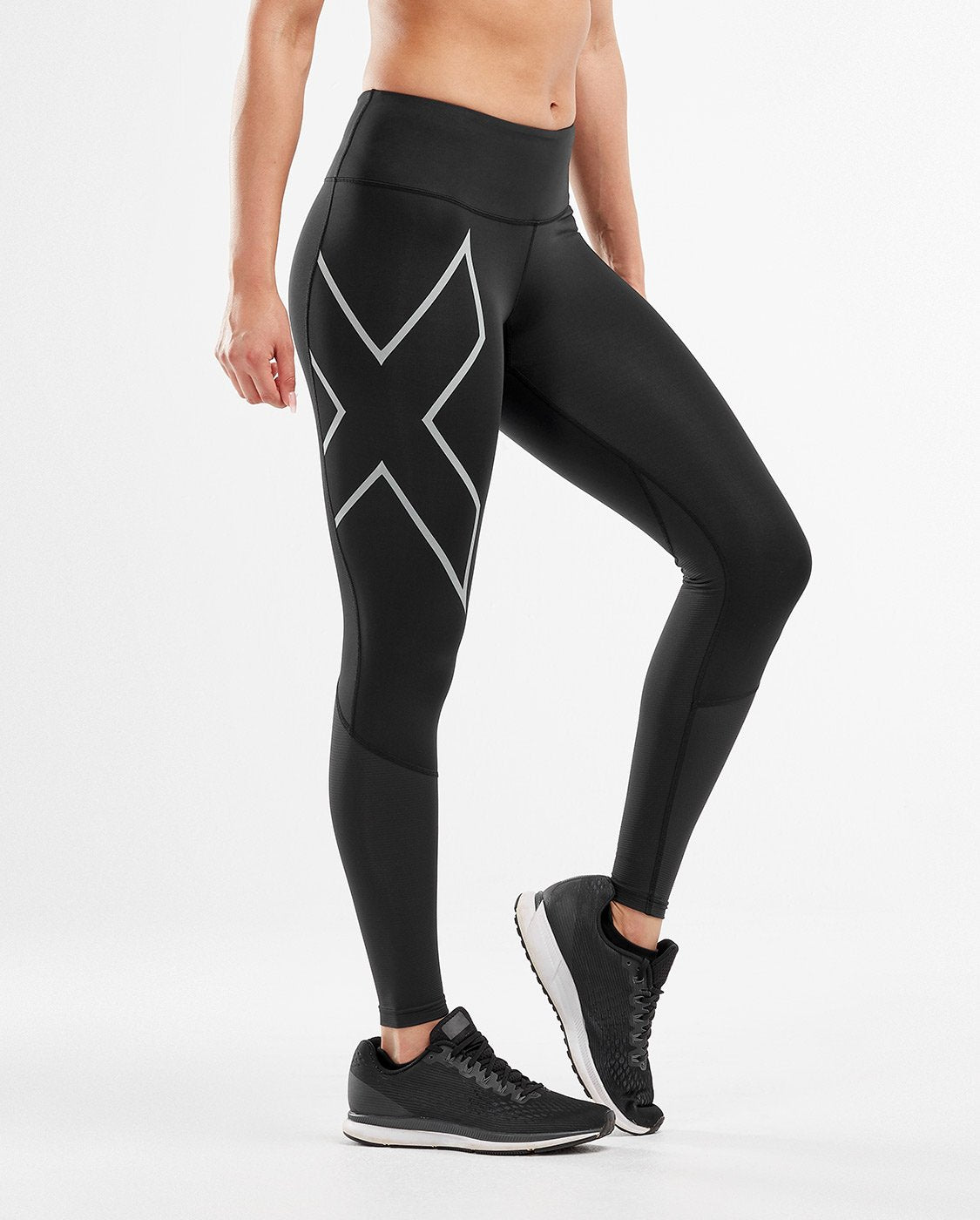 2XU Run Mid-Rise Dash Comp Tight