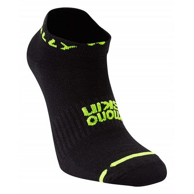 Hilly Men's Lite Socklet - Black Accessories Hilly
