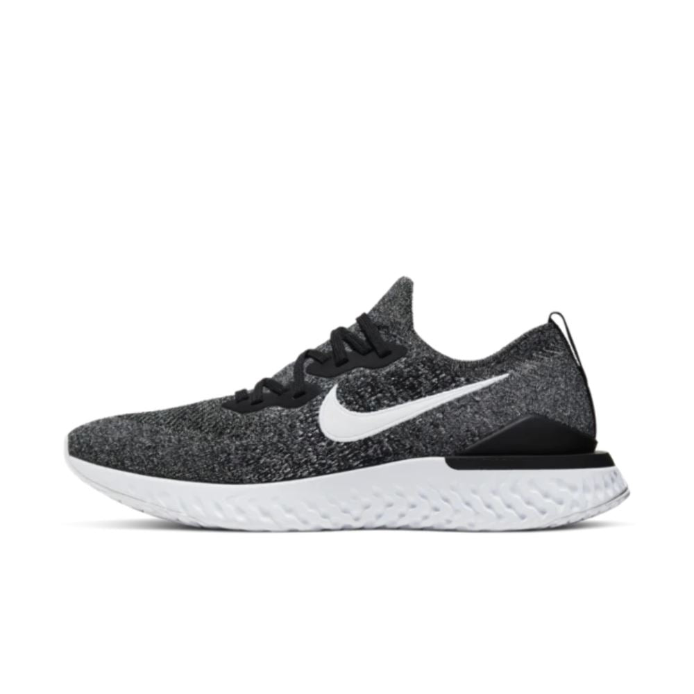 Nike Epic React Flyknit 2 Black White Shoes - Men Nike