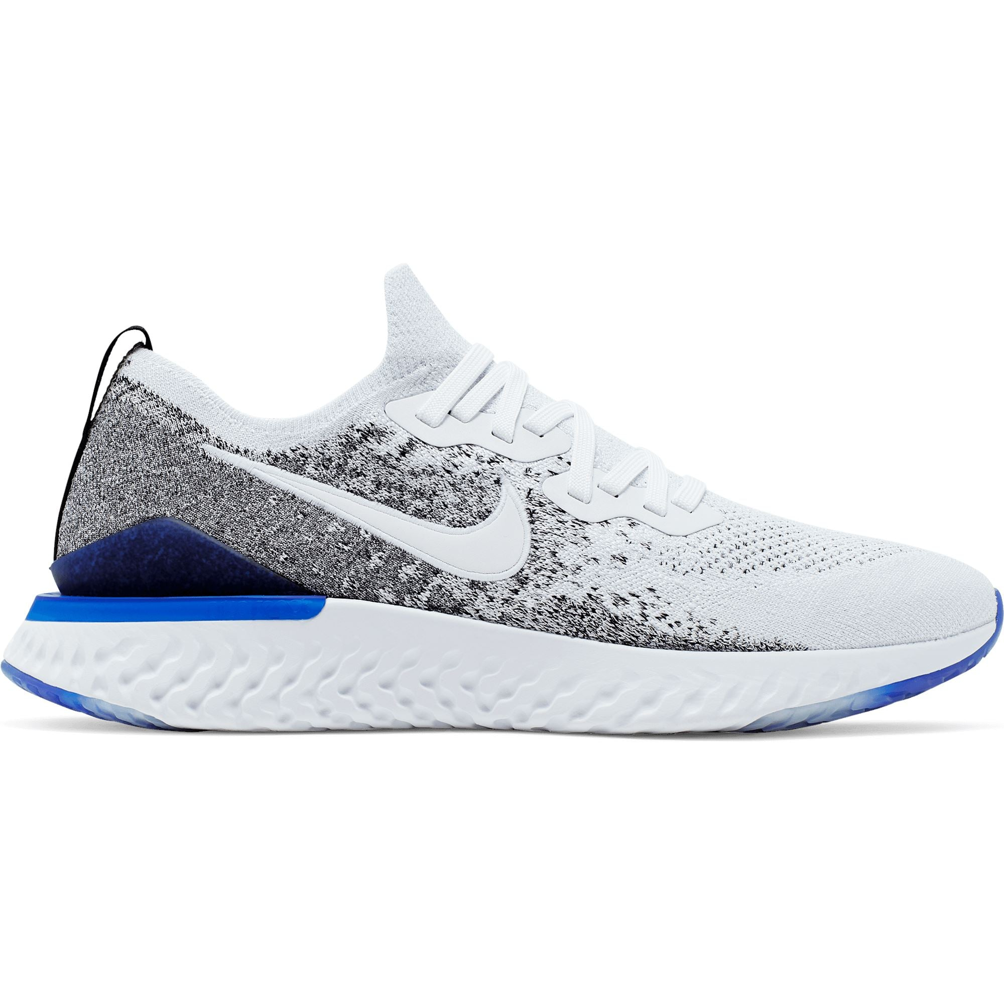 Nike Men's Epic React Flyknit 2 White Shoes - Men Nike
