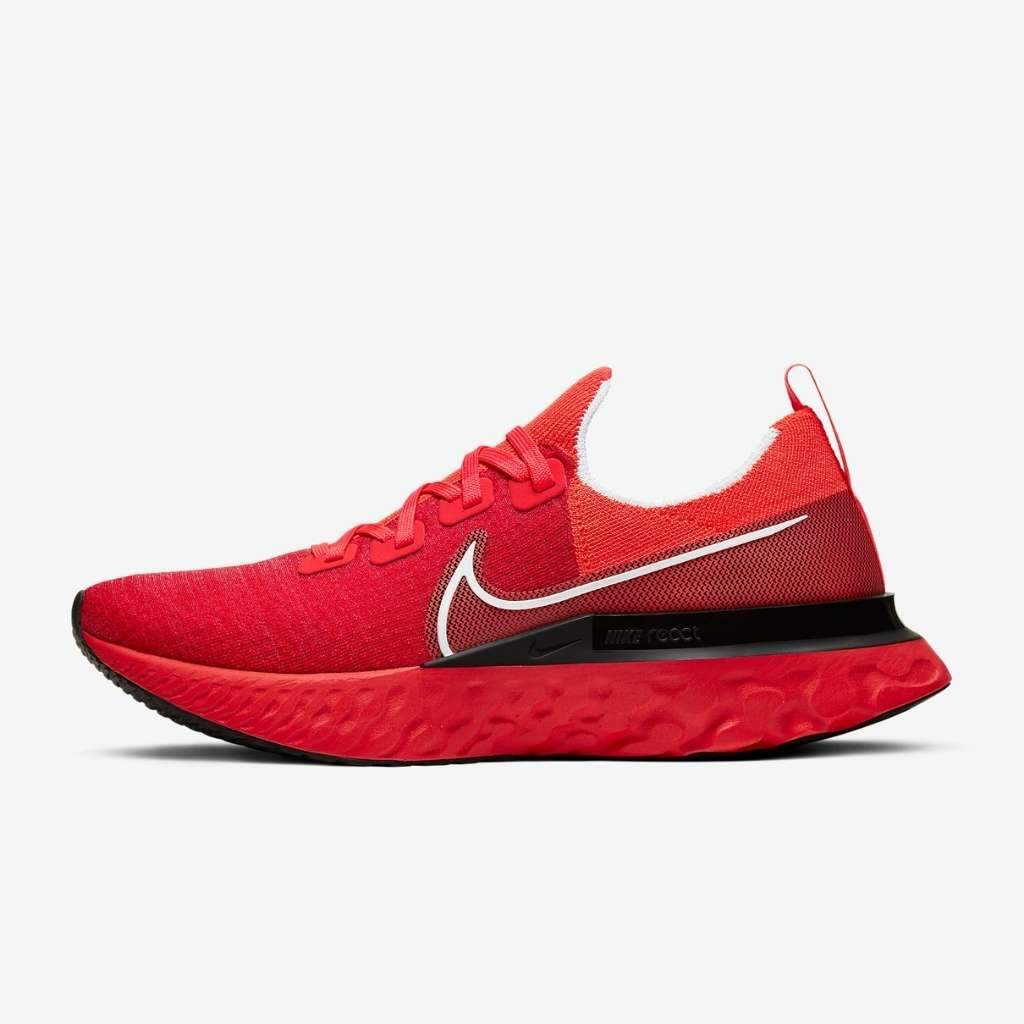 Nike Men's React Infinity Run Fk - Red Shoes - Men Nike