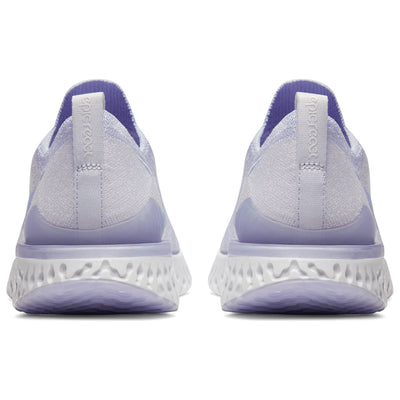 Nike Women's Epic React Flyknit 2 Purple Shoes - Women Nike