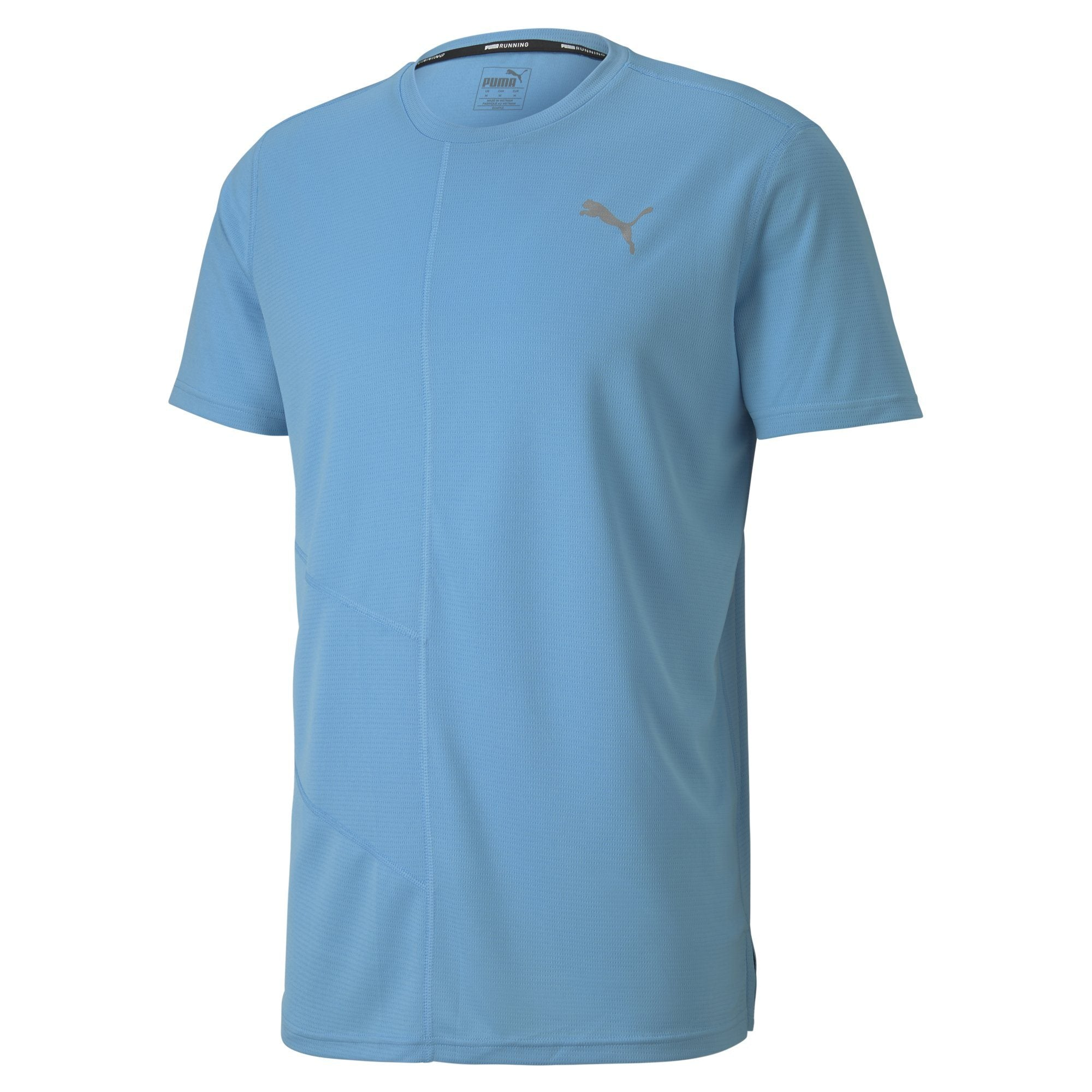 Puma Ignite S/S Tee - Ethereal Blue Apparel - Men Puma