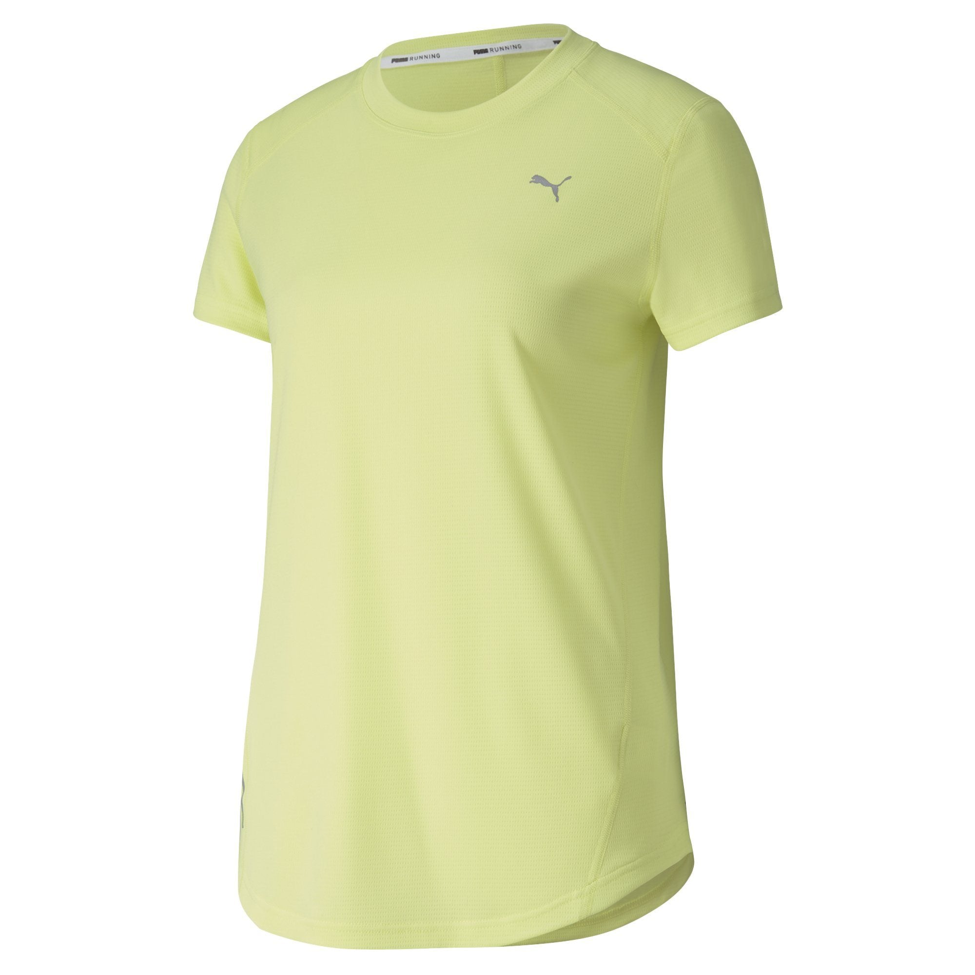 Puma Ignite S/S Tee (Womens) - Sunny Lime Apparel - Women Puma