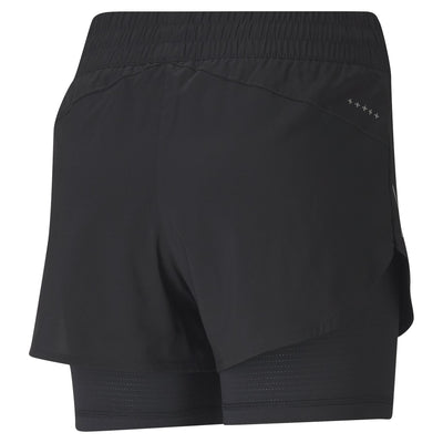 Puma Run Favorite Woven 2in1 3 Shorts (Womens) Apparel - Women Puma