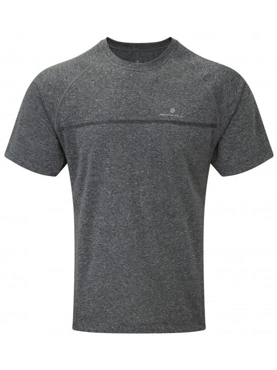 Ronhill Mens Everyday S/S Tee Grey Marl Apparel - Men Ronhill