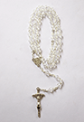 CRYSTAL WHITE ROSARY-45