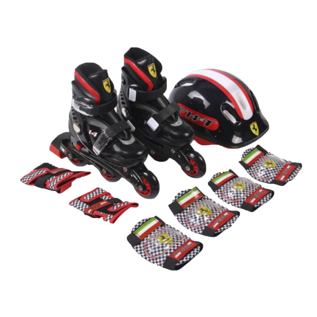 FERRARI KIDS SKATE COMBO SET - OUTLETWORLD