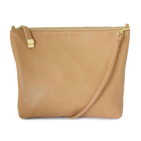 ABBEY CROSSBODY | CAMEL