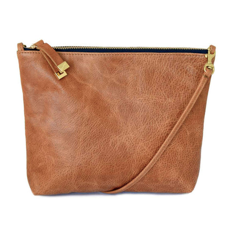 ABBEY CROSSBODY | SADDLE