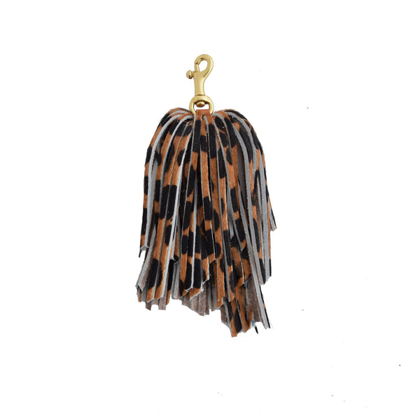 POM TASSEL | BROWN CHEETAH