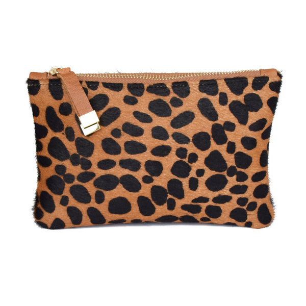 TIP POUCH | BROWN CHEETAH