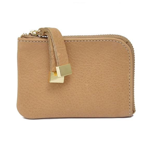 ZIP WALLET | CAMEL