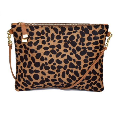 MADISON CROSSBODY | BROWN CHEETAH
