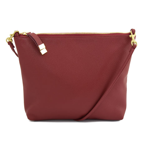 ABBEY CROSSBODY | CRANBERRY