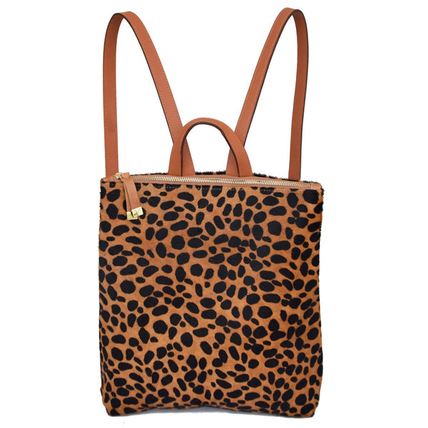 Franny Backpack | Brown Cheetah