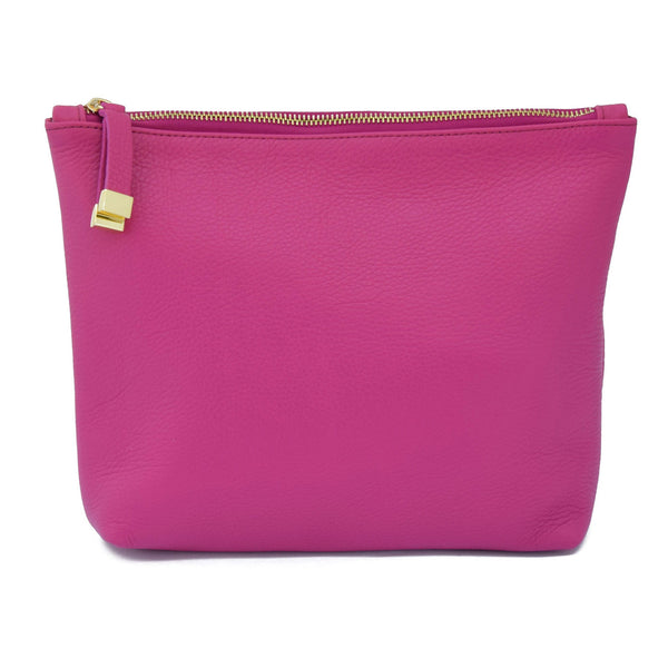 ABBEY CLUTCH | MAGENTA
