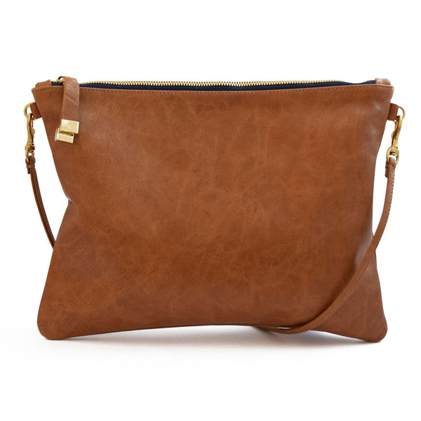 MADISON CROSSBODY | SADDLE