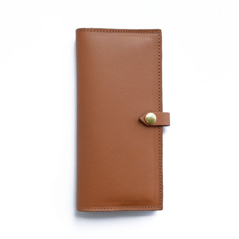 Lincoln Park Wallet | TAN
