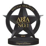 Winner National Australian Bridal Industry Award 2018