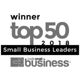 Winner Australian Top 50 Small Business Leaders