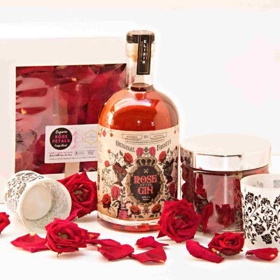 Rose Petal Gin Ultimate Romance Package for Valentine's Day