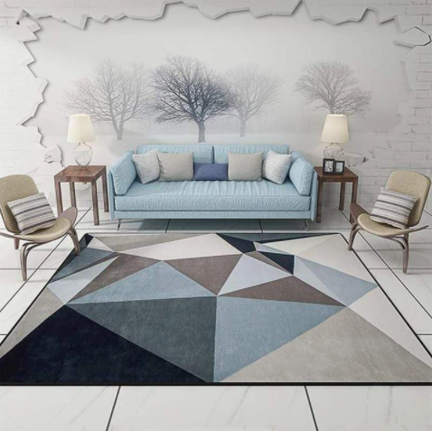 Tapis pour ambiance scandinave