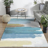 Tapis salon design contemporain abstrait