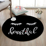 Tapis Rond <br> Oeil