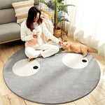 Tapis Rond <br> Smiley
