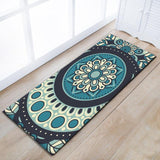 Tapis de cuisine mandala simple et originale