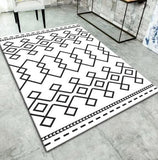 Tapis de salon pour table  basse motif dessin