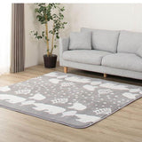 Tapis de salon mises en situation motif scandinave