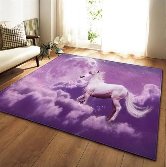 Tapis Chambre Fille , Cheval