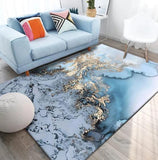 Tapis de salon design et abstrait