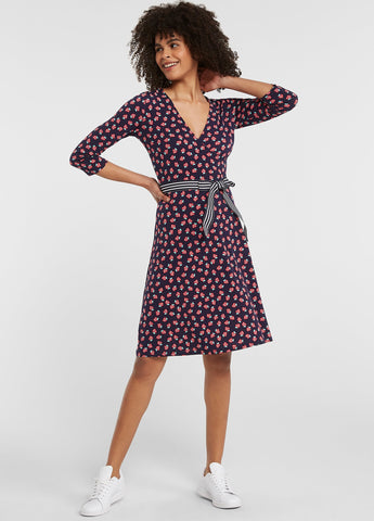 Strawberry Patch Perfect Wrap Dress