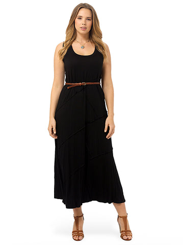 Reverse Seam Carolyn Maxi Dress