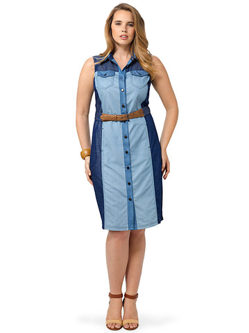 Haley Chambray Dress