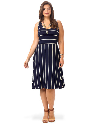 Catalina Stripe Tank Dress