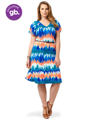 Ilene Dress In Volcano