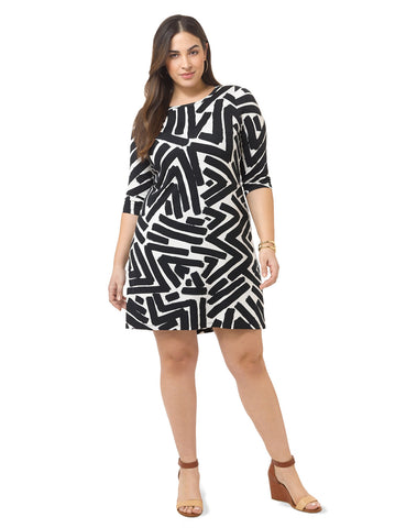 Brushstroke Dress